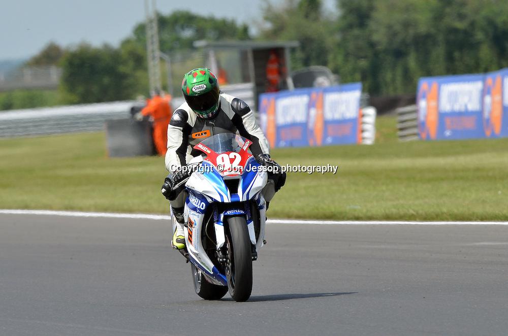 #92 David Juhasz Morello Racing Kawasaki Superstock 1000
