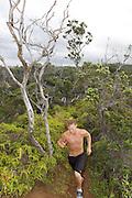 running,trail,Hawaii,photo.