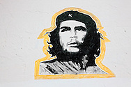 Image of Ernesto Che Guevara in Vertientes, Camaguey, Cuba.