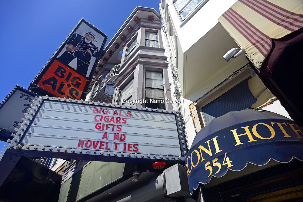 Big Al's, one of the first topless bars in San Francisco and the United States since the mid-1960s.
