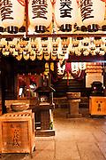 Lanterns at Hozenji Temple, Dotonburi/Minami area.