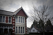 No.110 Ninian Road, Cardiff, Britain, where 17-year-old Aamir Siddiqi was murdered in 2010 by hit men who went to the wrong house. The intended target was Mohammed Ali Tanhai who lived round the corner at No. 85 Shirley Road.