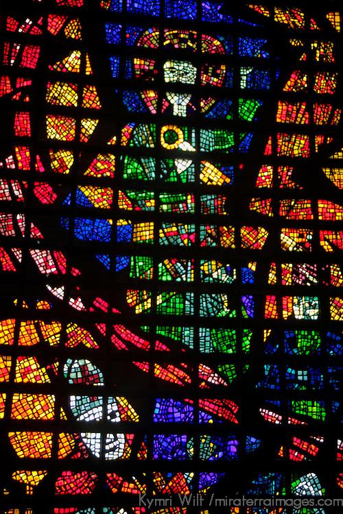 South America, Brazil. Cathedral Metropolitana of Rio de Janiero.