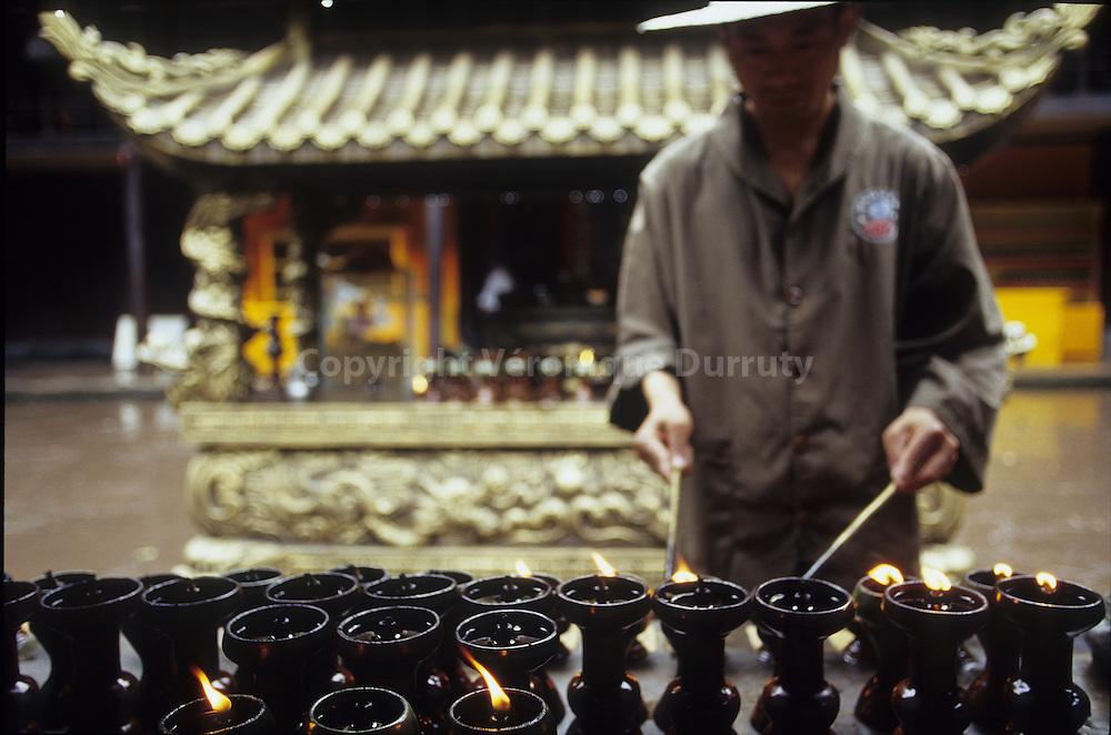 Wenshu temple, Chengdu, Sichuan, Chine
