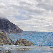 Photo of South Sawyer Glacier in Tracy Arm Ford Terror Wilderness ares on tour with Tracy Arm Adventure Bound