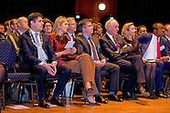 Koningin Máxima is woensdagochtend 11 november 2015 aanwezig bij de opening van de Conferentie Doing