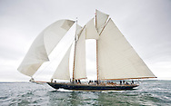 Mariette racing on the Solent during Classics Week.