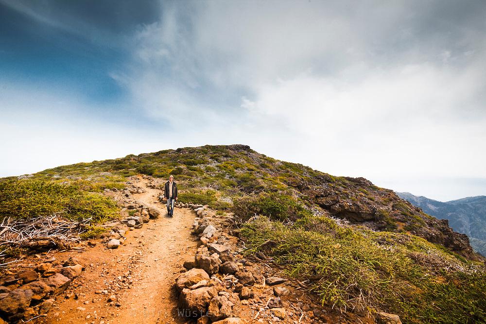 Wanderweg Nationalpark Caldera de Taburiente, La Palma, Kanarische Inseln, Spanien