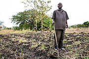 Taifa Mate is originally from Eldoret, located in the Rift Valley in Kenya. He has been in South Sudan for four years. The agricultural project he is pictured standing in is all his own and he has been working on this particular area of land in Rejaf East for one month. He is currently planting a variety of vegetables for local markets. However, the agricultural market in South Sudan is not currently large enough for large-scale production so he is also researching the possibility for the exportation of produce to the Middle East, such as Dubai and Qatar.<br /> <br /> In 2015, he had an accident, which incapacitated him for two months. Friends and family wanted him to return to Kenya, but he chose not to, as he says the accident could have happened anywhere. &ldquo;When any situation arises you just accept it and relax,&rdquo; Taifa stated. When asked about how secure he feels in South Sudan, he said it has felt insecure, but at the same time it feels like an adventure.<br /> <br /> He is leasing the land he is planting and has a good relationship with the landowner. He is also doing his own form of capacity building by assisting the others he works with and next to. Altruistic in his thinking, he wants to establish a business entity in Juba, watch it grow and then leave it to prosper for the benefit of the people.<br /> <br /> &ldquo;You have to engage your mind, if you don&rsquo;t you won&rsquo;t get to where you are going.&rdquo;<br /> <br /> Photo: UNMAS/ Martine Perret