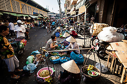 Street market in Cholon, Ho Chi Minh City (Saigon), Vietnam, Southeast Asia