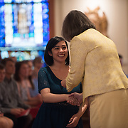 Social Justice Missioning Ceremony. (Photo by Gonzaga University)