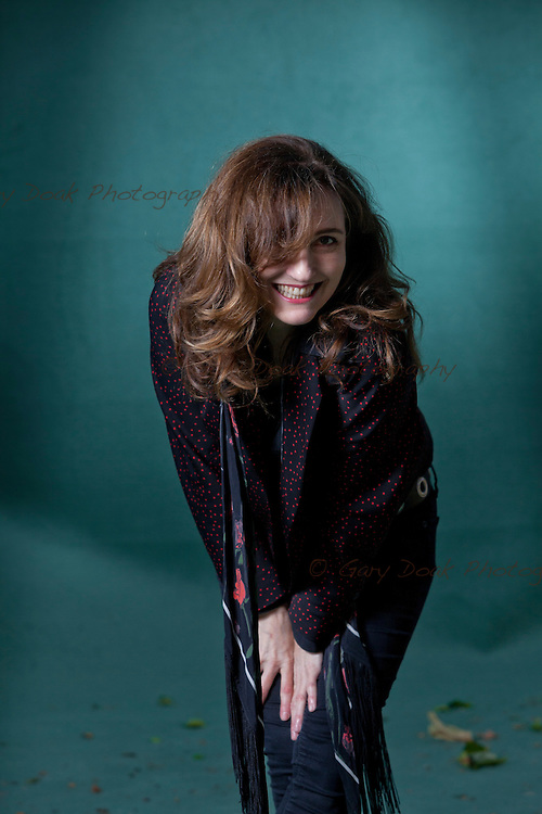 Viviane Katrina Louise &quot;Viv&quot; Albertine,  the British singer and songwriter, best known as the guitarist for the English punk group The Slits, at the Edinburgh International Book Festival 2015. Edinburgh, Scotland. 23rd August 2015 <br /> <br /> Photograph by Gary Doak