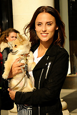 OCT 01 2014 Lucy Watson during PETA photocall