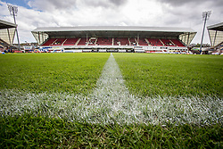 East End Park, the home ground of Dunfermline FC.
