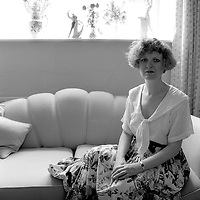 Joan Smith photographed in Oxfordshire<br /> 1988<br /> <br /> Picture by Flo Smith<br /> <br /> <br /> WORLD RIGHTS