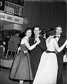 1958 - Irish Shell staff dance at the Shelbourne Hotel