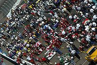 Phoenix starting grid, IRL