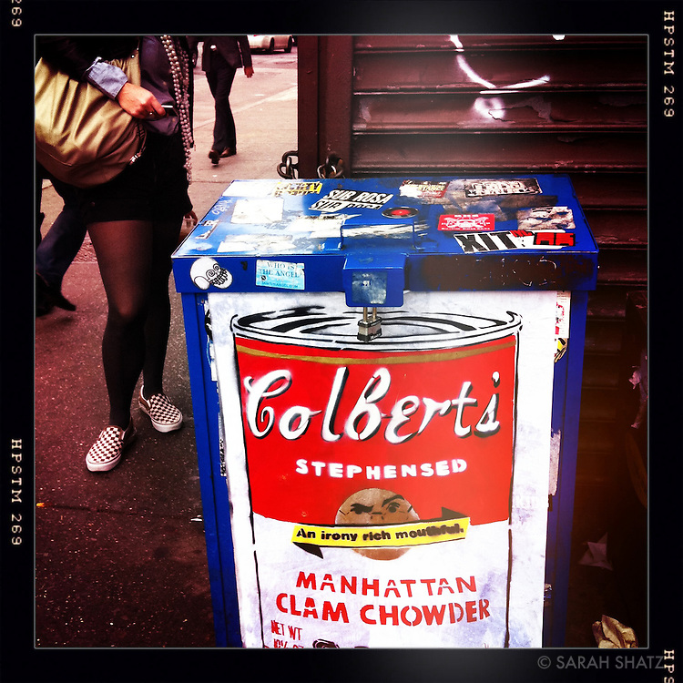 Colbert's Stephensed Manhattan Clam Chowder
