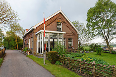 Fort bij Spijkerboor fortwachterswoning, Natuurmonumenten, SWestbeemster, Beemster, Noord Holland