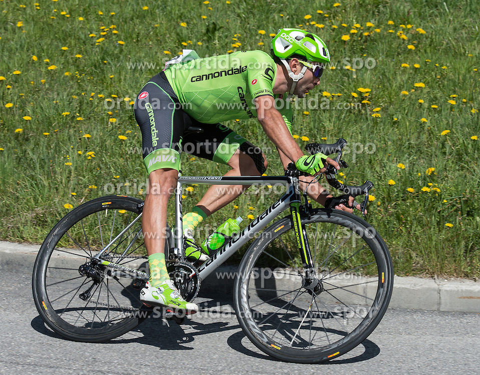 21.05.2016, Alpago nach Corvara, ITA, Giro d Italia 2016, 14. Etappe, im Bild Moreno Moser (IA, Team Cannondale) // during 14th Stage, from Alpago to Corvara of the Giro d Italia at. in Alpago nach Corvara, Italy on 2016/05/21. EXPA Pictures © 2016, PhotoCredit: EXPA/ Reinhard Eisenbauer