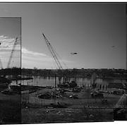 Southwest D.C. Waterfront Construction, 12/30/14
