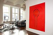 """Stein Hjertholm, Leilighet """"min drømmeleilighet"""" Studio. Foto: Espen Solli"""