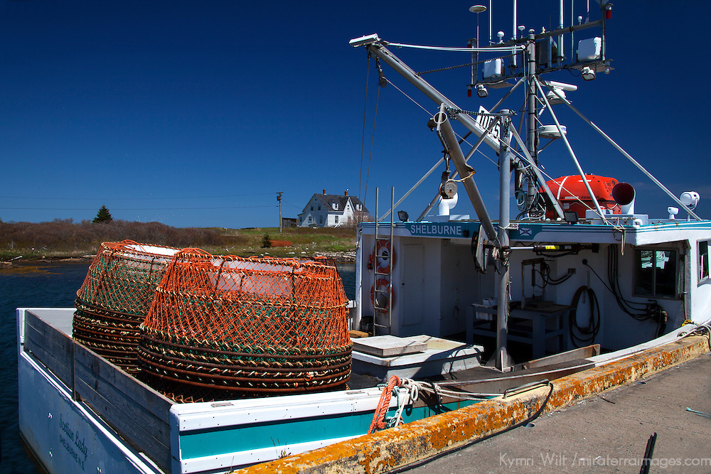 North America, Canada, Nova Scotia, Canso. Fisherman's Market Wharf Crab Fishing in Canso.