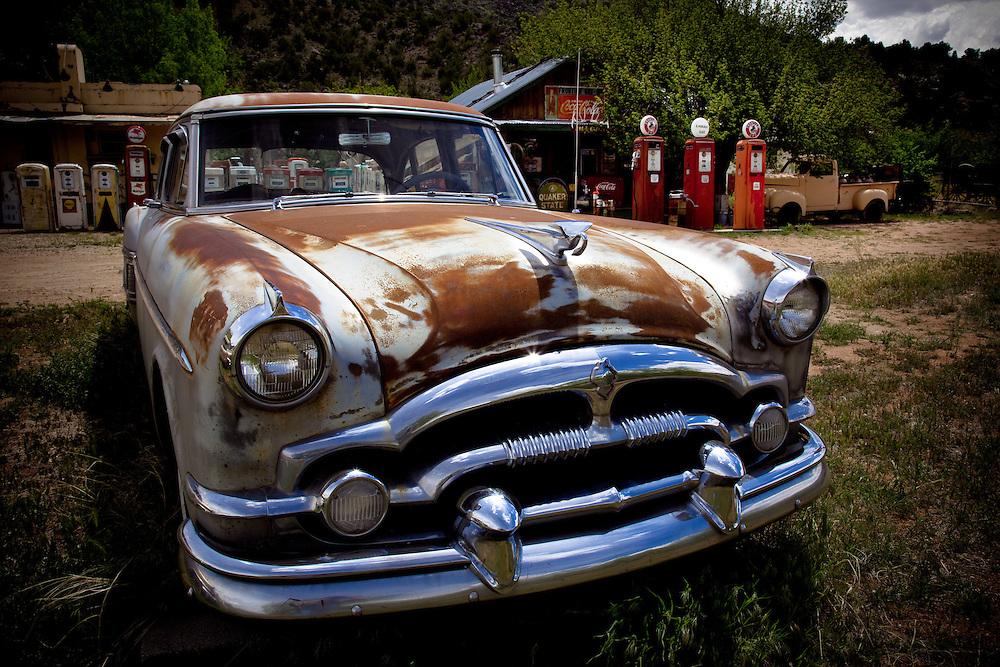 A bygone era. Near Taos, New Mexico.