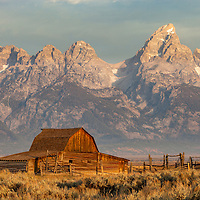 Barn at Mormon's Row in Grand Teton National Park
