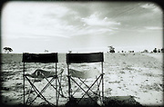 Chairs in outback. @ Martine Perret. 2006