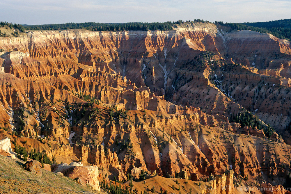 USA, Utah, Cedar Breaks. Canyon amphitheater of Cedar Breaks National Monument.