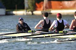 2012.02.25 Reading University Head 2012. The River Thames. Division 2. Thames Rowing Club Sen 8+
