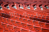 A photo of a Jay Pritzker Pavilion seating