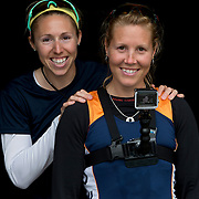 Lindsay Jennerich and Patricia Obee Rowing