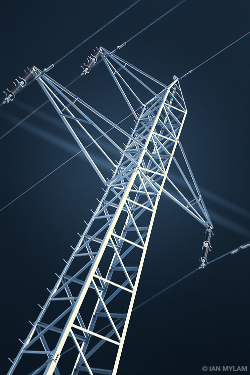 Electricity Pylon - Fyn. Denmark