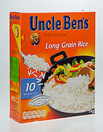 Box of Uncle Ben's Rice - Jul 2014.