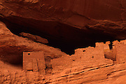 Image of White House Ruin at Canyon in Canyon de Chelly National Monument, Arizona, American Southwest