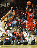 "Mississippi's Chris Warren made 5-three pointers in the first half vs. LSU at the C.M. ""Tad"" Smith Coliseum on Thursday, March 4, 2010 in Oxford, Miss. Ole Miss won 72-59."