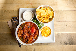 The spicy bean nachos. Pillars of Hercules, Falkland, Fife, Tam Cowan review
