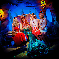 LAKE BUENA VISTA, FL -- November 17, 2012 -- South Florida Disney fans Madison Harrold, 17, left to right, Megan Ellett, 16, and Celina Lezcano, 16, meet Ariel in Ariel's Grotto in the New Fantasyland expansion at Walt Disney World in Lake Buena Vista, Florida on Saturday, November 17, 2012.  The New Fantasyland expansion is the largest since the park's opening and features Enchanted Forest with The Little Mermaid and Beauty and the Beast themed-attractions plus Storybook Circus , which puts a Disney spin on the American circus.(PHOTO / CHIP LITHERLAND for TIME)(PHOTO / CHIP LITHERLAND for TIME)