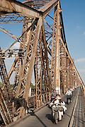 Gustave Eiffel's Long Bien Bridge (Vietnamese: C?u Long Biên) is a historic cantilever bridge across the Red River, built in 1903 Before Vietnam's independence in 1954, it was called Doumer Bridge,