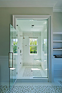 Shower,Cross Hwy, Long Island, East Hampton, New York