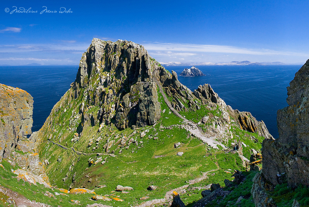 Christ's Saddle on Skellig Michael, Co. Kerry, Ireland<br /> <br /> Star Wars Movie Location ****** <br /> <br /> Visit &amp; browse through my Photography &amp; Art Gallery, located on the Wild Atlantic Way &amp; Skellig Ring between Waterville and Ballinskelligs (Skellig Coast R567), only 3 minutes from the main Ring of Kerry road.<br /> https://goo.gl/maps/syg6bd3KQtw<br /> <br /> ******<br /> <br /> Contact: 085 7803273 from an Irish mobile phone or +353 85 7803273 from an international mobile phone