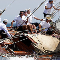 Eva. Sloop Aurique. 1906. Willima Fife III.Voiles d'Antibes 2007.