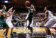 WEST LAFAYETTE, IN - DECEMBER 29: Brandon Britt #12 of the William & Mary Tribe shoots the ball in the lane against the Purdue Boilermakers at Mackey Arena on December 29, 2012 in West Lafayette, Indiana. Purdue defeated William & Mary 73-66. (Photo by Michael Hickey/Getty Images) *** Local Caption *** Brandon Britt