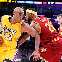 01-15 CAVALIERS AT LAKERS