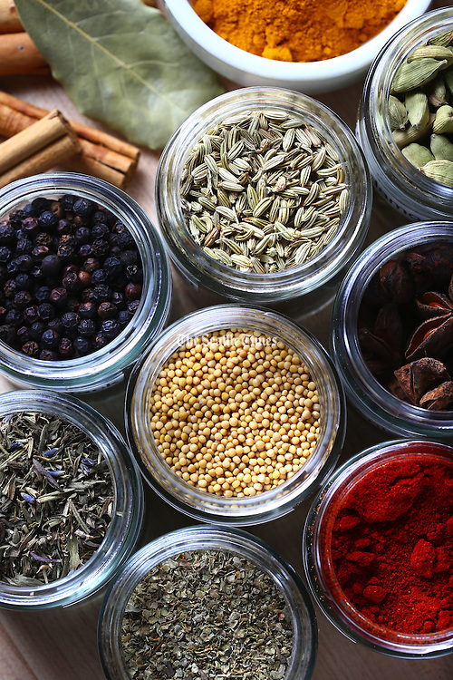 A variety of spices (John Lok / The Seattle Times)