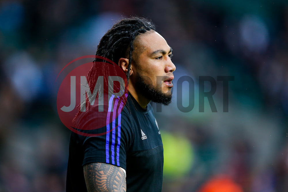 New Zealand Inside Centre Ma'a Nonu looks on - Mandatory byline: Rogan Thomson/JMP - 07966 386802 - 24/10/2015 - RUGBY UNION - Twickenham Stadium - London, England - South Africa v Wales - Rugby World Cup 2015 Semi Finals.