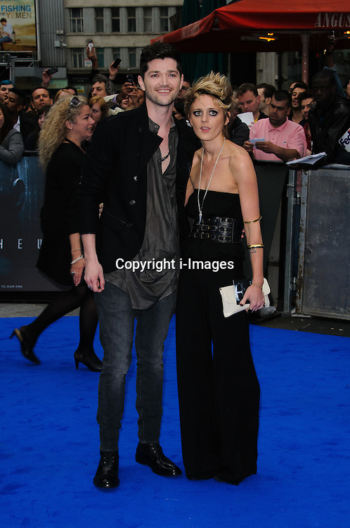 Rafe Spall and Elize Du Toit. at Prometheus' UK film premiere held at the Empire Leicester Square ,Thursday 31st May 2012 Photo Chris Joseph / i-Images.