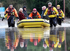 DEC 25 2013 Christmas Day floods in Kent